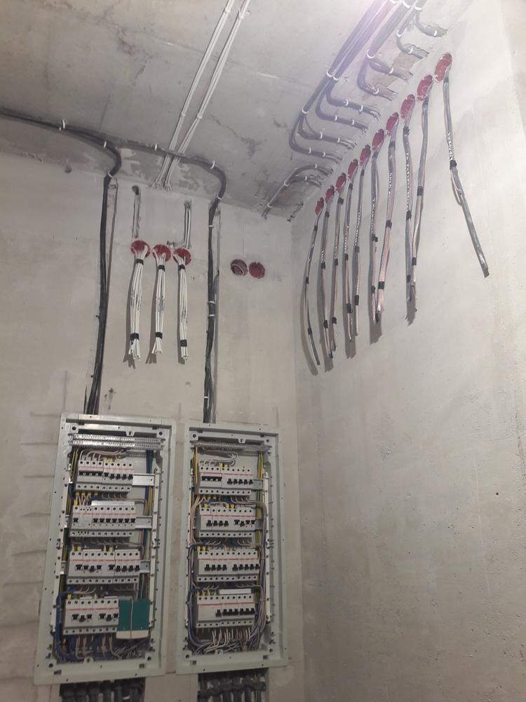 Электромонтажные работы в квартире