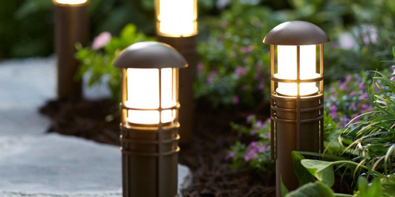 наружнее освещение дорожек