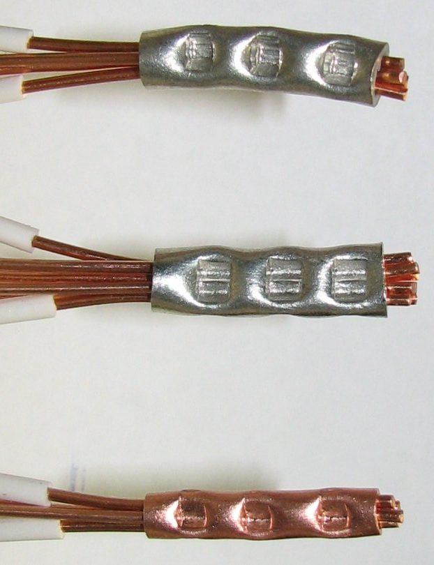 Опресованные провода