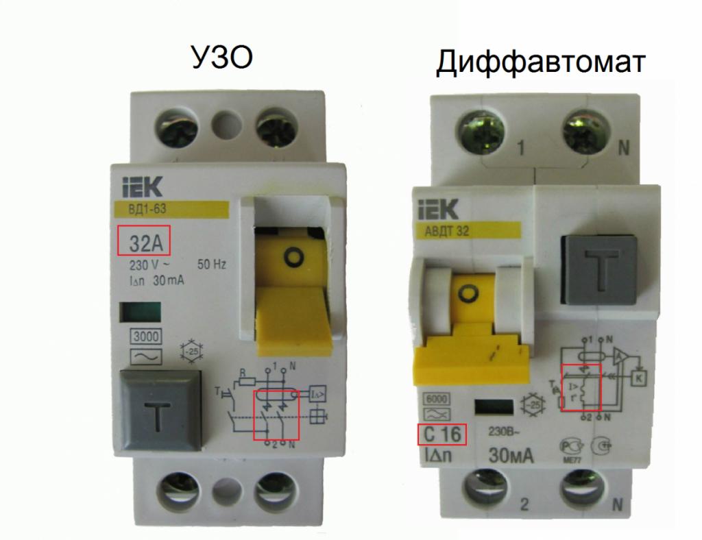 Узо или Дифавтомат